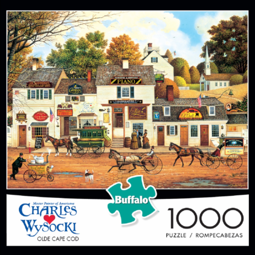 Buffalo Games Charles Wysocki: Olde Cape Cod Jigsaw Puzzle Perspective: front