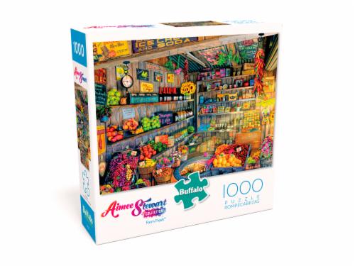 Buffalo Games Aimee Stewart: Farm Fresh Jigsaw Puzzle Perspective: front