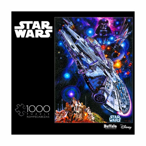 Buffalo Games Star Wars You're All Clear Kid Puzzle Perspective: front