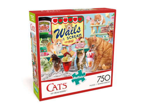 Buffalo Games Cats: Ice Cream Raiders Jigsaw Puzzle Perspective: front