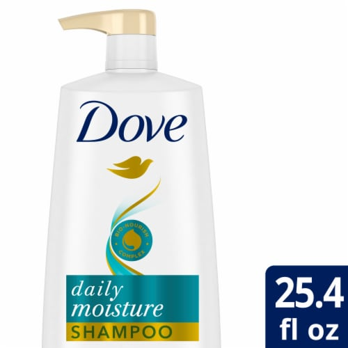 Dove Nutritive Solutions Daily Moisture Shampoo Perspective: front