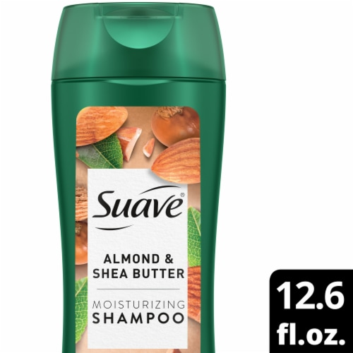 Suave Professionals Almond & Shea Butter Moisturizing Shampoo Perspective: front