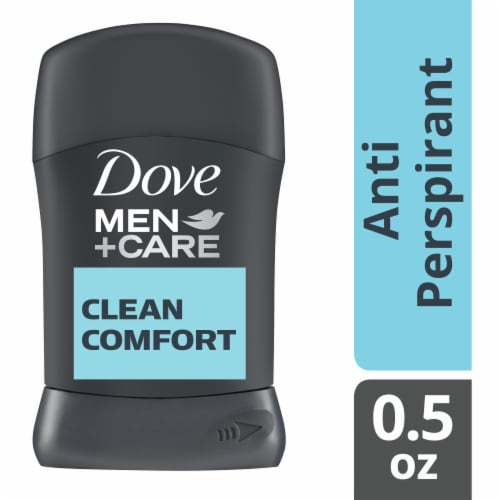 Dove Men+Care Clean Comfort Antiperspirant Stick Perspective: front