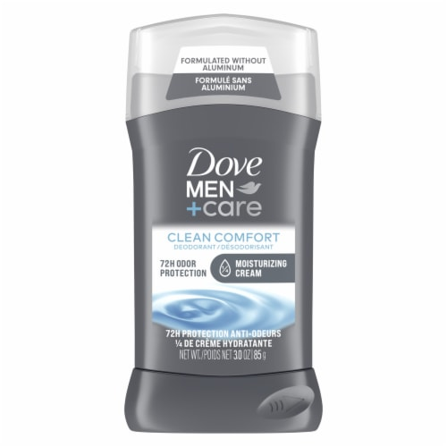 Dove Men+Care Clean Comfort Deodorant Stick Perspective: front