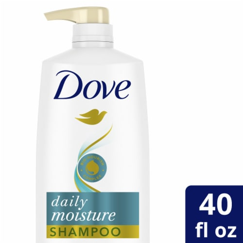 Dove Daily Moisture Shampoo Perspective: front