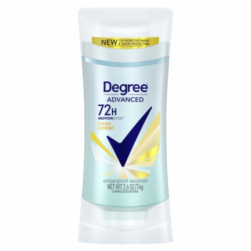 Degree Fresh Energy Scent Women MotionSense Antiperspirant Deodorant Stick Perspective: front