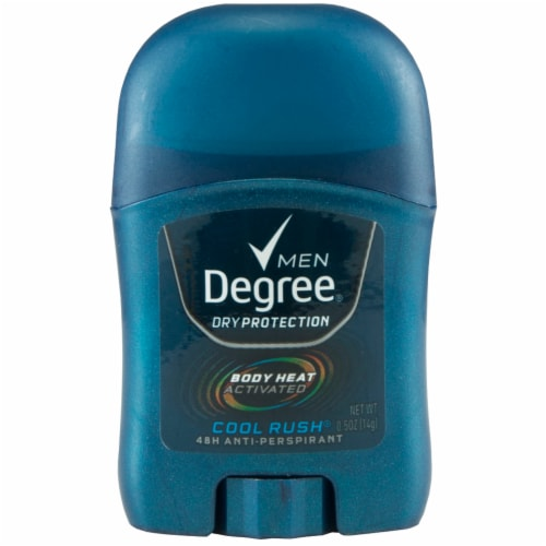 Degree Men Dry Protection Cool Rush Anti-Perspirant Deodorant Stick Perspective: front