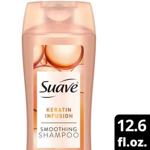 Suave Professionals Keratin Infusion Smoothing Shampoo Perspective: front