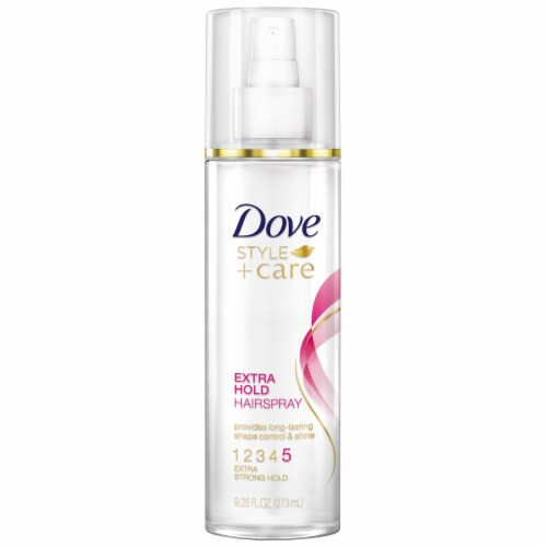 Dove Style + Care Extra Strong Hold Hairspray Perspective: front