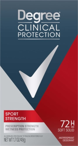 Degree Men Clincial Protection MotionSense Sport Antiperspirant Deodorant Stick Perspective: front