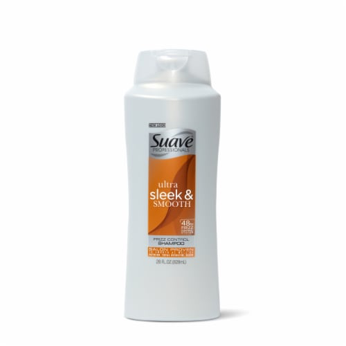 Suave Ultra Sleek & Smooth Frizz Control Shampoo Perspective: front