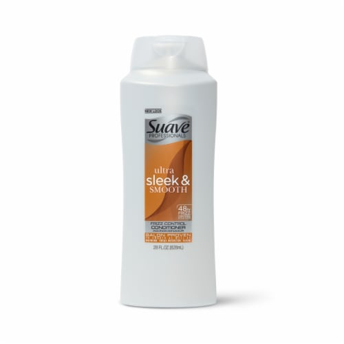 Suave Ultra Sleek & Smooth Frizz Control Conditioner Perspective: front
