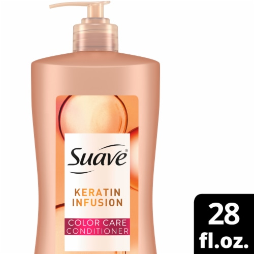 Suave® Professionals Keratin Infusion Color Care Conditioner for Color-Treated Hair Perspective: front