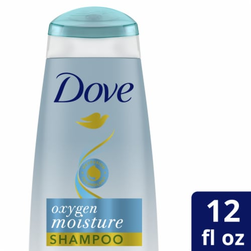 Dove Nutritive Solutions Oxygen Moisture Shampoo Perspective: front