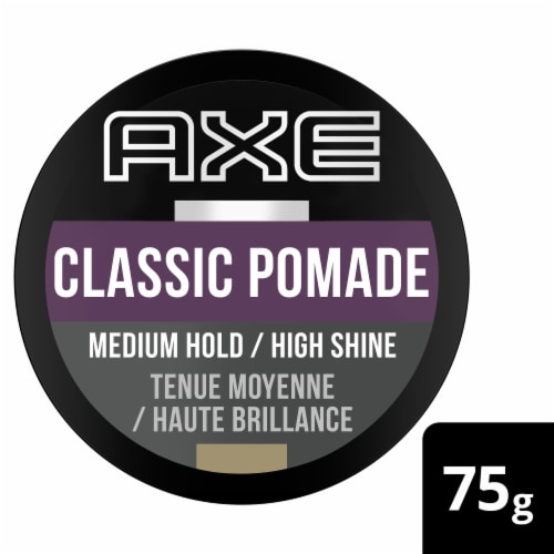 Axe Classic Clean Cut Look Hair Pomade Perspective: front