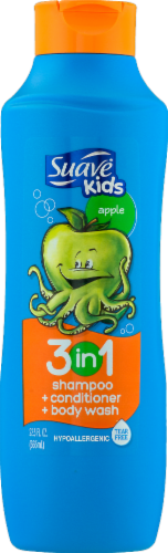 Suave Kids Apple  3-in-1 Shampoo Condition and Body Wash Perspective: front
