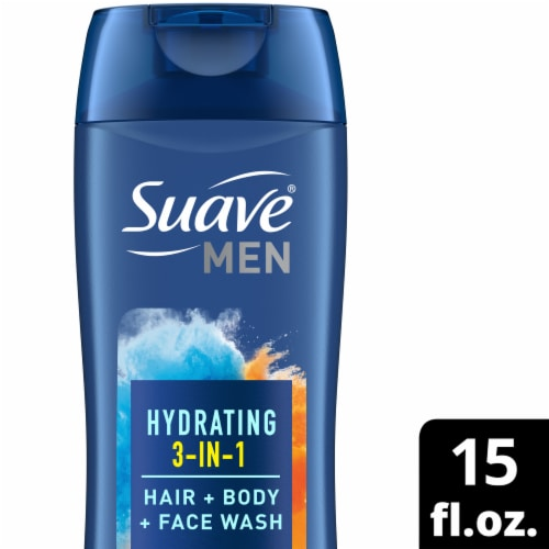 Suave Men 2-in-1 Hair & Body Wash Perspective: front