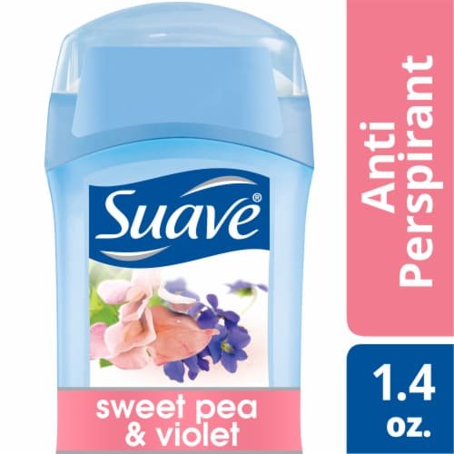 Suave Sweet Pea & Violet Antiperspirant Deodorant Stick Perspective: front