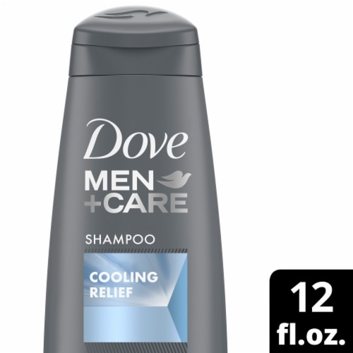 Dove Men Care Cooling Relief Fortifying Shampoo Perspective: front