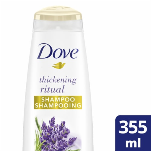 Dove Nourishing Secrets Thickening Ritual Shampoo Perspective: front
