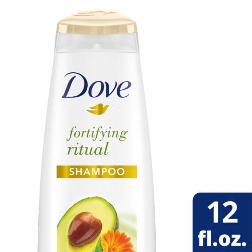 Dove Nourishing Rituals Fortifying Ritual Shampoo Perspective: front