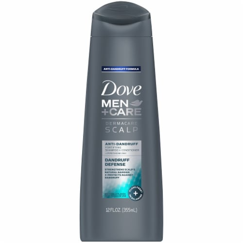 Dove Men+Care Dandruff Defense 2-in-1 Shampoo + Conditioner Perspective: front