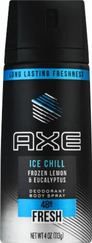 Axe Ice Chill Deodorant Body Spray Perspective: front