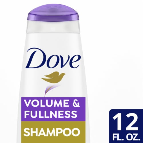 Dove Nutritive Solutions Volume & Fullness Shampoo Perspective: front