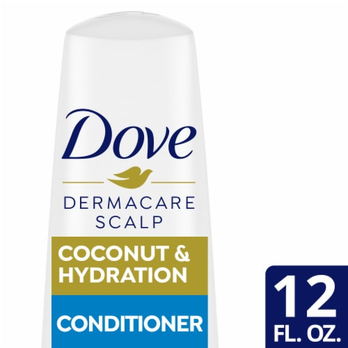 Dove Dermacare Coconut & Hydration Anti-Dandruff Conditioner Perspective: front