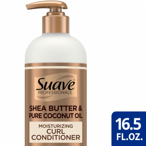 Suave® Professionals Paraben-Free Moisturizing Shea Butter Conditioner for Curly Wavy & Coily Hair Perspective: front