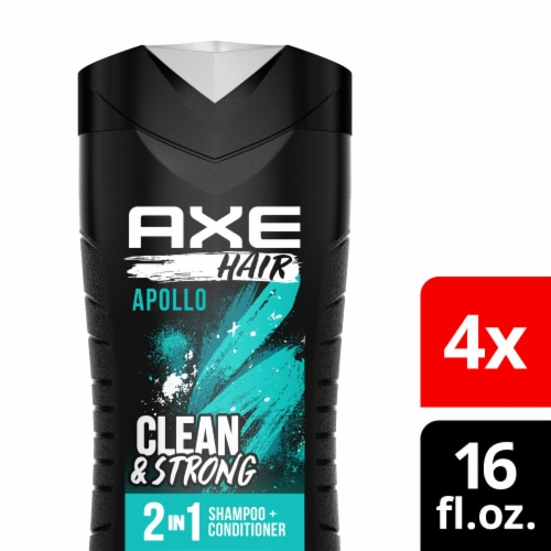 Axe Hair Apollo Clean & Strong 2-In-1 Shampoo & Conditioner Perspective: front