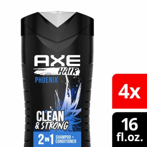 Axe Hair Phoenix Clean & Refreshed 2-in-1 Shampoo & Conditioner Perspective: front