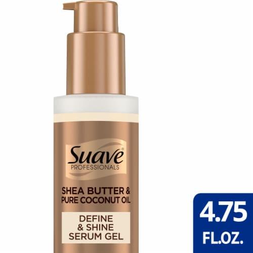 Suave Professionals Natural Shea Butter & Pure Coconut Oil Define & Shine Serum Gel Perspective: front