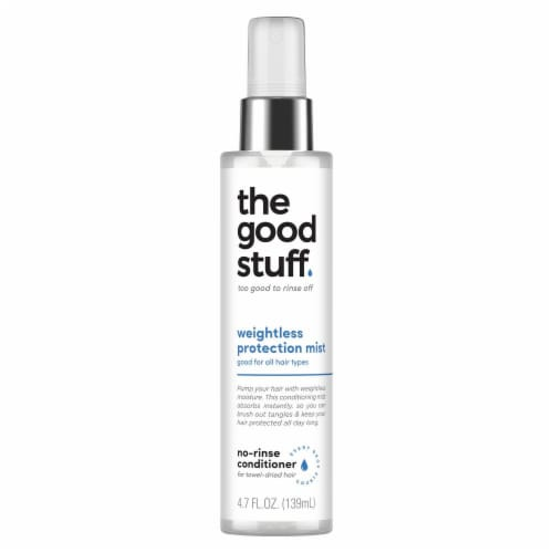 the good stuff Weightless Protection Mist No-Rinse Conditioner Perspective: front