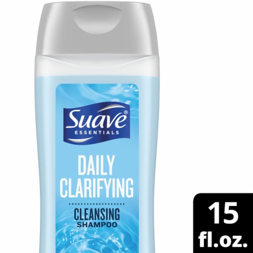 Suave Essentials Daily Clarifying Shampoo Perspective: front