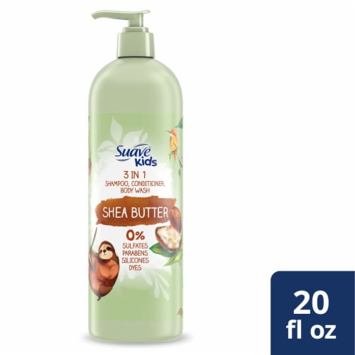 Suave Kids 3-in-1 Shea Butter Shampoo Conditioner & Body Wash Perspective: front