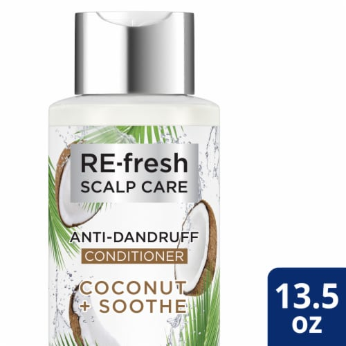 RE-fresh Scalp Care Coconut + Soothe Anti-Dandruff Conditioner Perspective: front