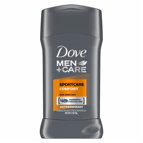 Dove Men+Care SportCare Comfort Invisible Solid Antiperspirant Stick Perspective: front