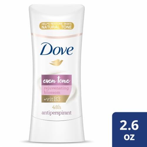 Dove Even Tone Rejuvenating Blossom Antiperspirant Stick Perspective: front