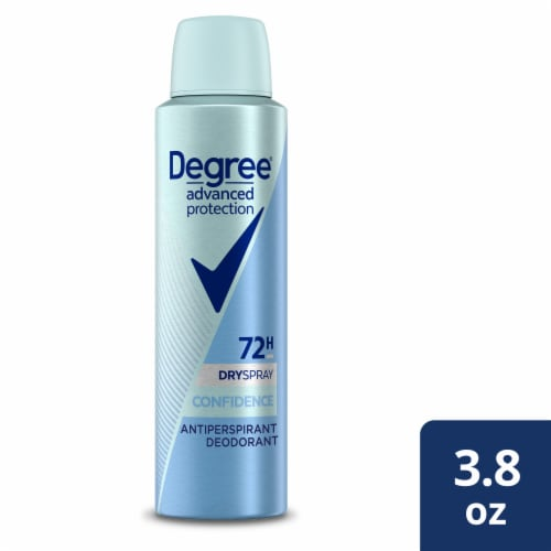 Degree Advanced Protection Confidence Jasmine & Apple Antiperspirant & Deodorant Dry Spray Perspective: front