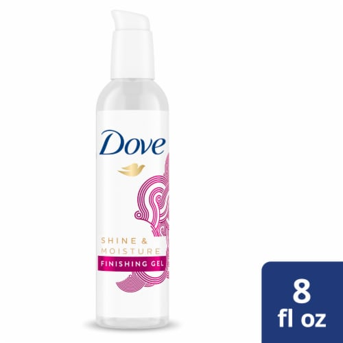 Dove Hair Shine and Finish Hair Gel Perspective: front