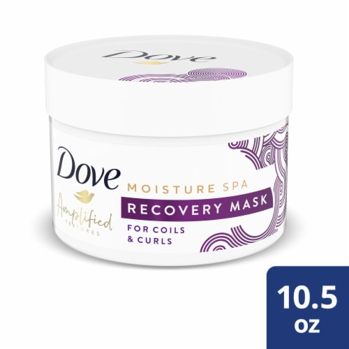 Dove Hair Curls Mask Perspective: front