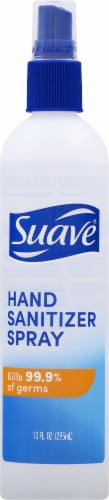 Suave Hand Sanitizer Spray Perspective: front
