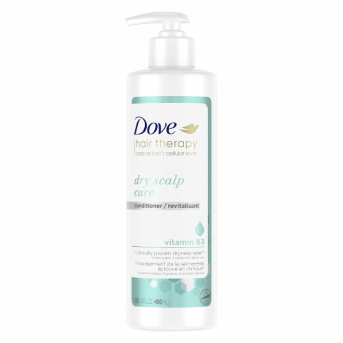 Dove Hair Therapy Dry Scalp Care Conditioner Perspective: front