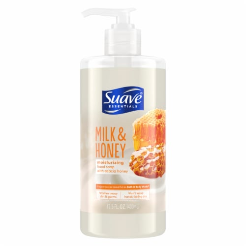 Suave Milk and Honey Hand Soap Perspective: front