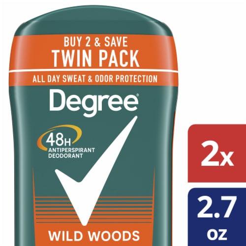 Degree Men Wild Woods Antiperspirant and Deodorant Stick Perspective: front