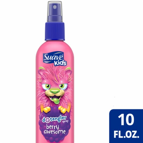Suave® Kids Berry Awesome Detangler Spray Perspective: front