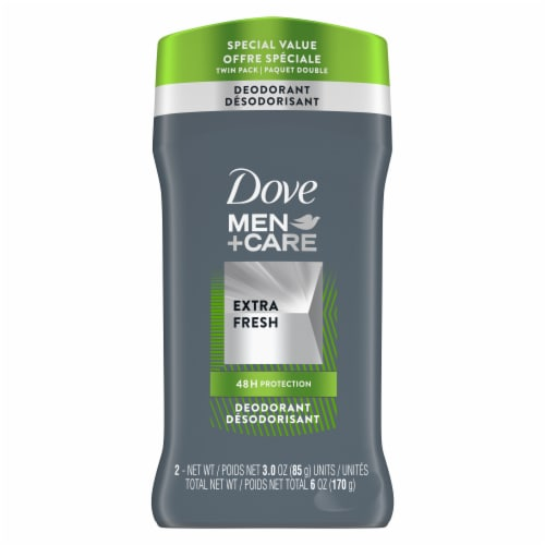 Dove Men+Care Extra Fresh Deodorant Perspective: front