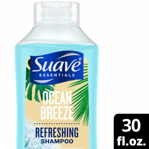 Suave Essentials Ocean Breeze Refreshing Shampoo Perspective: front