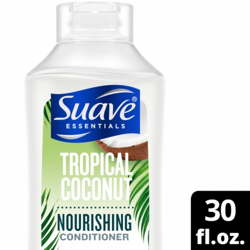 Suave Tropical Coconut Nourishing Conditioner Perspective: front